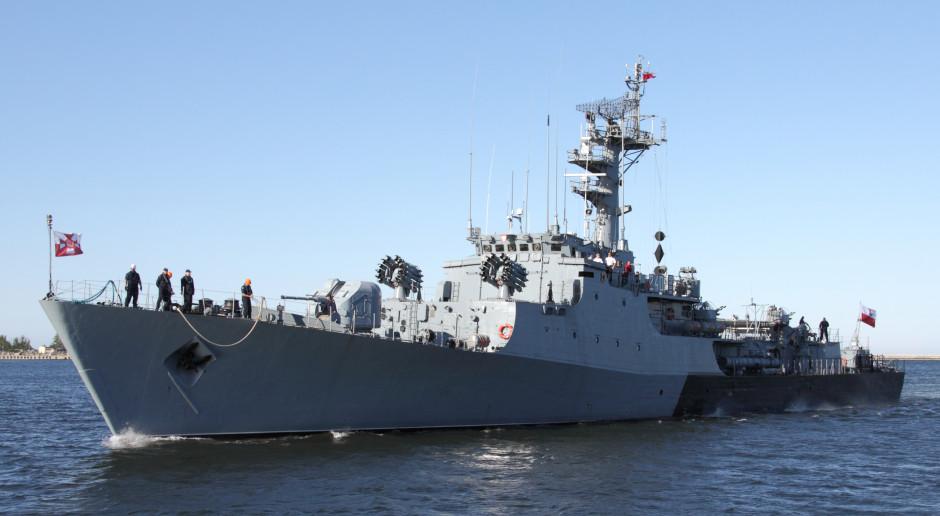 Marynarka Wojenna potężna w deklaracjach. Gorzej z modernizacją i okrętami