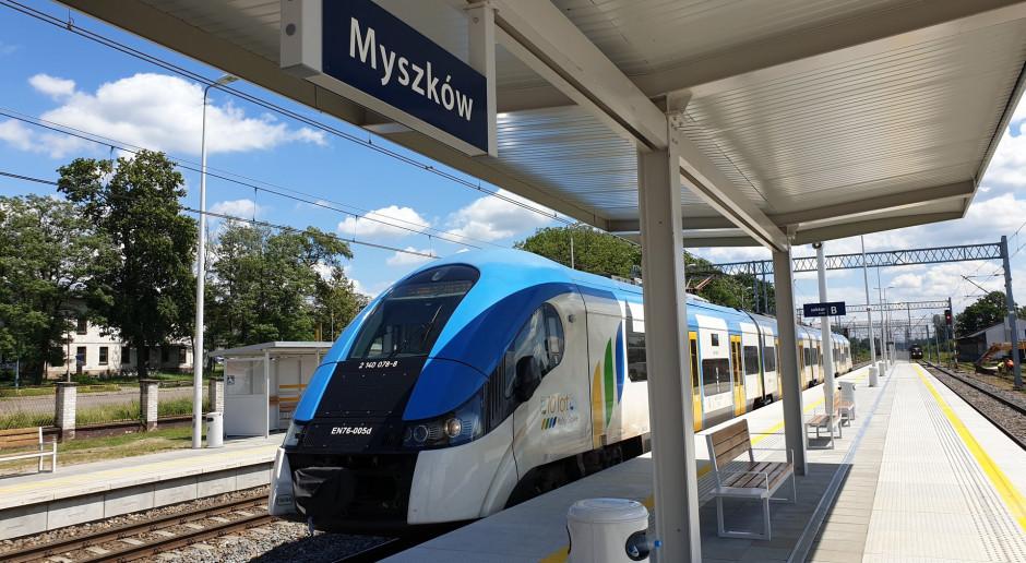 Modernizacja linii kolejowej z Częstochowy do Zawiercia