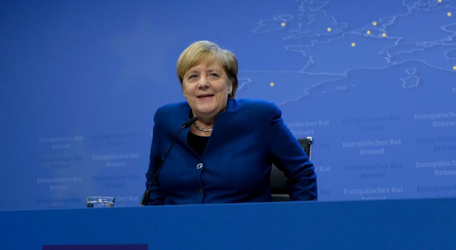 Angela Merkel przedstawiła w europarlamencie swoją wizję UE