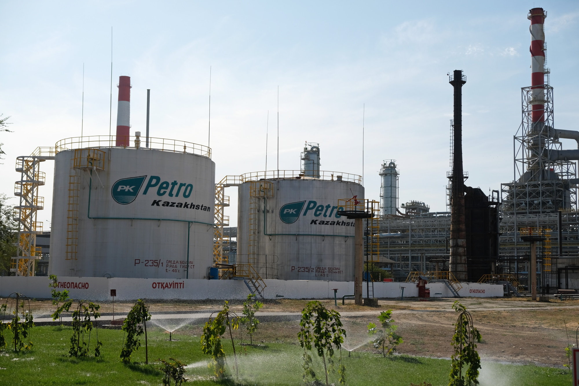 To ropa odpowiada za 1/4 wzrostu kazachskiego eksportu do Chin. Fot. Shutterstock