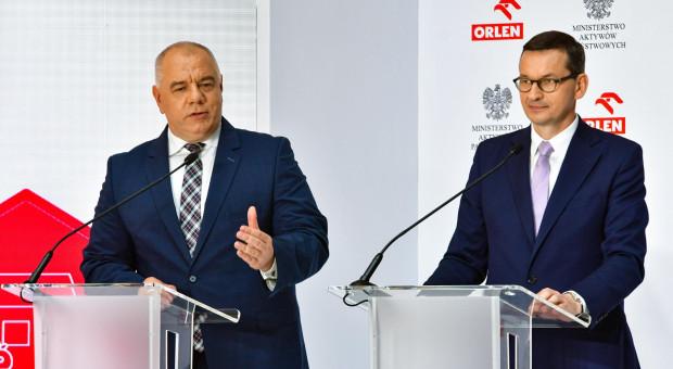 Morawiecki: przejęcia PKN Orlen to przełomowy proces dla konkurencyjności polskiej gospodarki