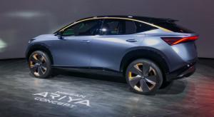 Nissan pokazał elektrycznego SUV-a i nowe logo