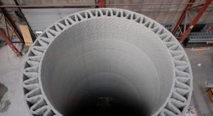 """""""Drukowany"""" beton pozwoli budować wiatraki 2,5 raza wyższe od dzisiejszych"""