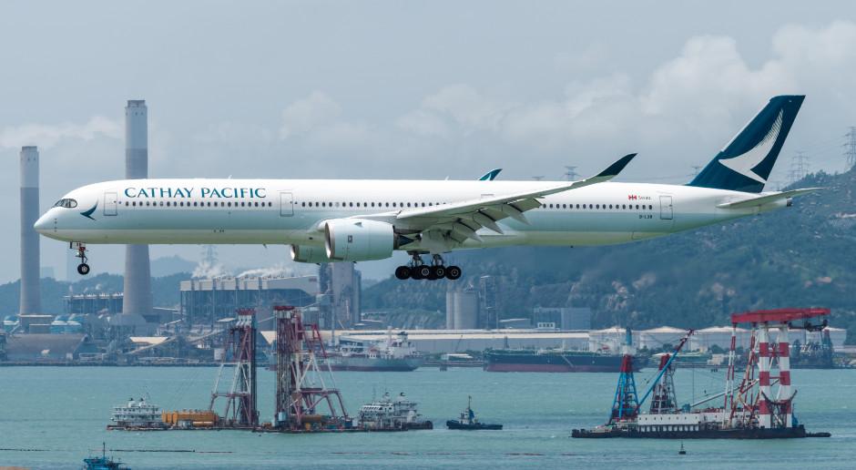 Cathay Pacific zapowiada rekordową stratę
