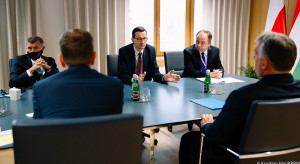Wieczorem planowane spotkanie Morawieckiego z Merkel i Macronem