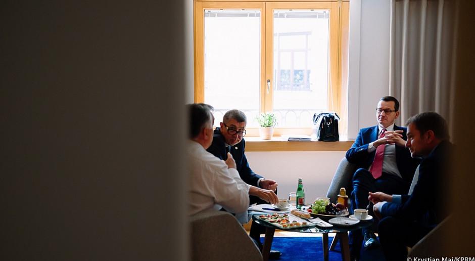 Morawiecki uczestniczy w spotkaniu koordynacyjnym V4