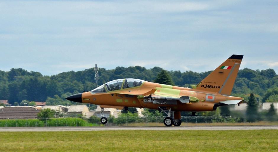 Dziewiczy lot lekkiego szturmowca Leonardo M-346 Fighter Attack