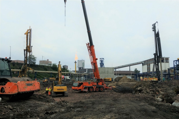 Trwa budowa bloku energetycznego w Koksowni Radlin