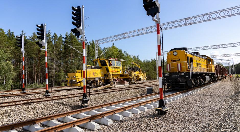 Rozpędzają się kolejowe inwestycje w portach Szczecin i Świnoujście