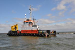 Rozpędza się hydrotechniczna inwestycja za 1,4 mld zł. Trwa budowa sztucznych wysp