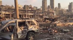 Eksplozja w Bejrucie. Szkody na 3 mld dolarów, 300 tys. ludzi bez dachu nad głową