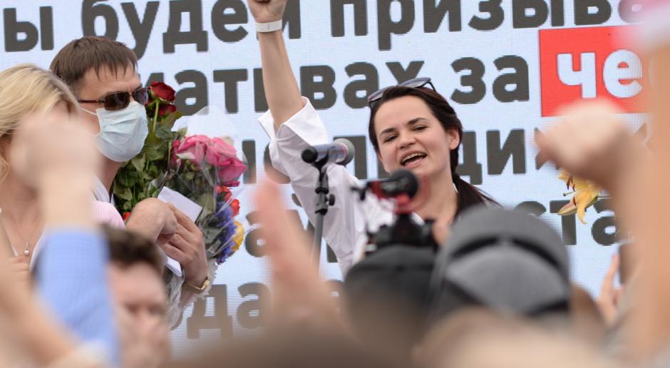 Cichanouska: jestem gotowa wziąć na siebie odpowiedzialność za losy Białorusi