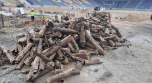 Pociski, granaty i naboje na budowie Stadionu Miejskiego w Szczecinie