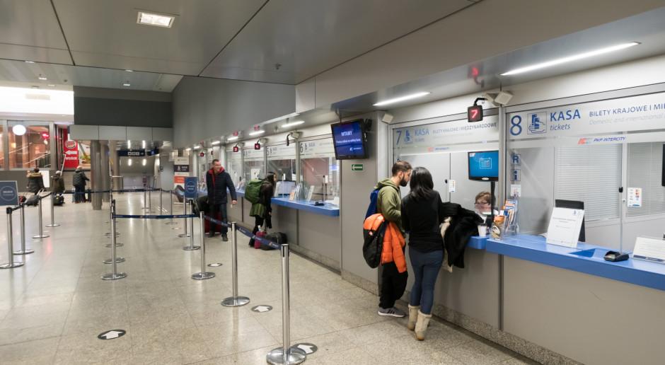 Informacja o śladzie węglowym na biletach PKP Intercity