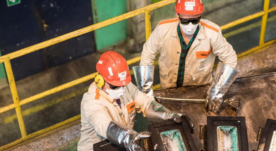Produkcja miedzi, srebra i metali szlachetnych w KGHM powyżej planu