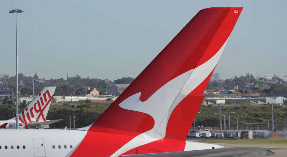 Australijskie linie Qantas Airlines nie wznowią lotów jeszcze przez rok