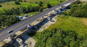Jest umowa na kontynuację budowy estakady w ciągu Zakopianki