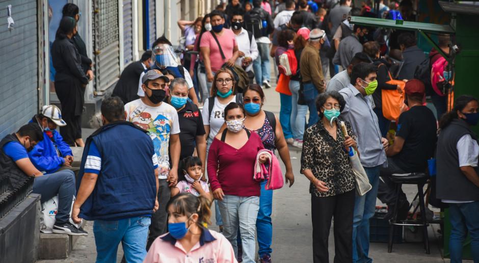 Meksyk: Prawie 5,5 tys. nowych zakażeń koronawirusem, ponad 350 zgonów