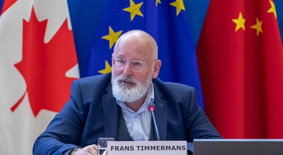 Timmermans: Transformacja regionów górniczych może wygenerować inwestycje warte 100 mld euro