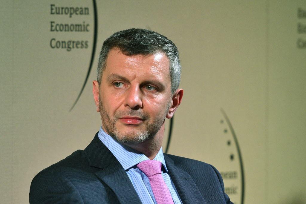 Piotr Zawistowski, prezes zarządu Towarowej Giełdy Energii (Fot. PTWP)