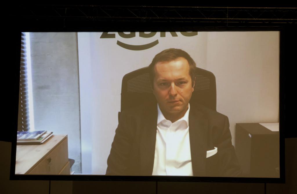 Tomasz Blicharski, wiceprezes ds. finansowych i rozwoju w firmie Żabka Polska (fot. PTWP)