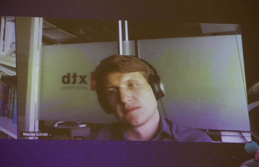 Maciej Górski, datawearhouse product owner w X-Trade Brokers Domu Maklerskim (fot. PTWP)