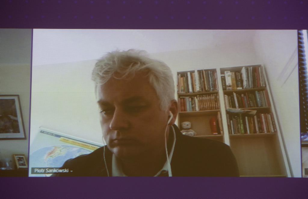 Piotr Sankowski, wykładowca na Uniwersytecie Warszawskim, członek Rady Narodowego Centrum Badań i Rozwoju (fot. PTWP)