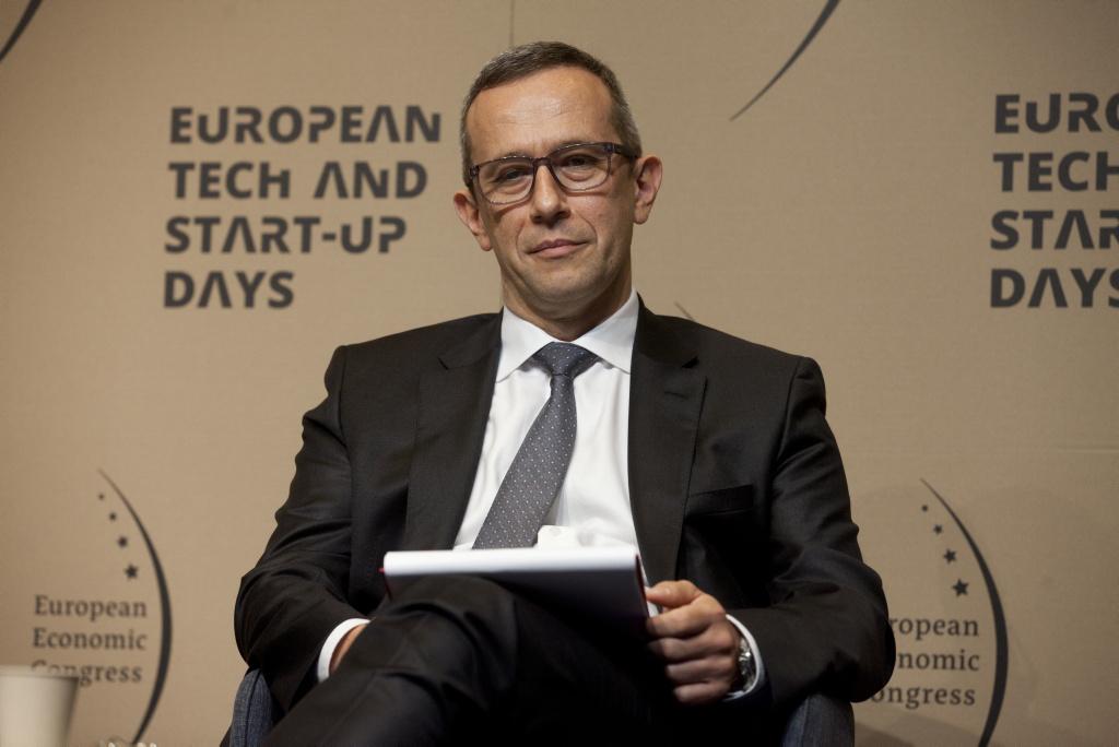 Radosław Kędzia, wiceprezes Huawei w rejonie Europy Środkowo-Wschodniej i krajach nordyckich (fot. PTWP)