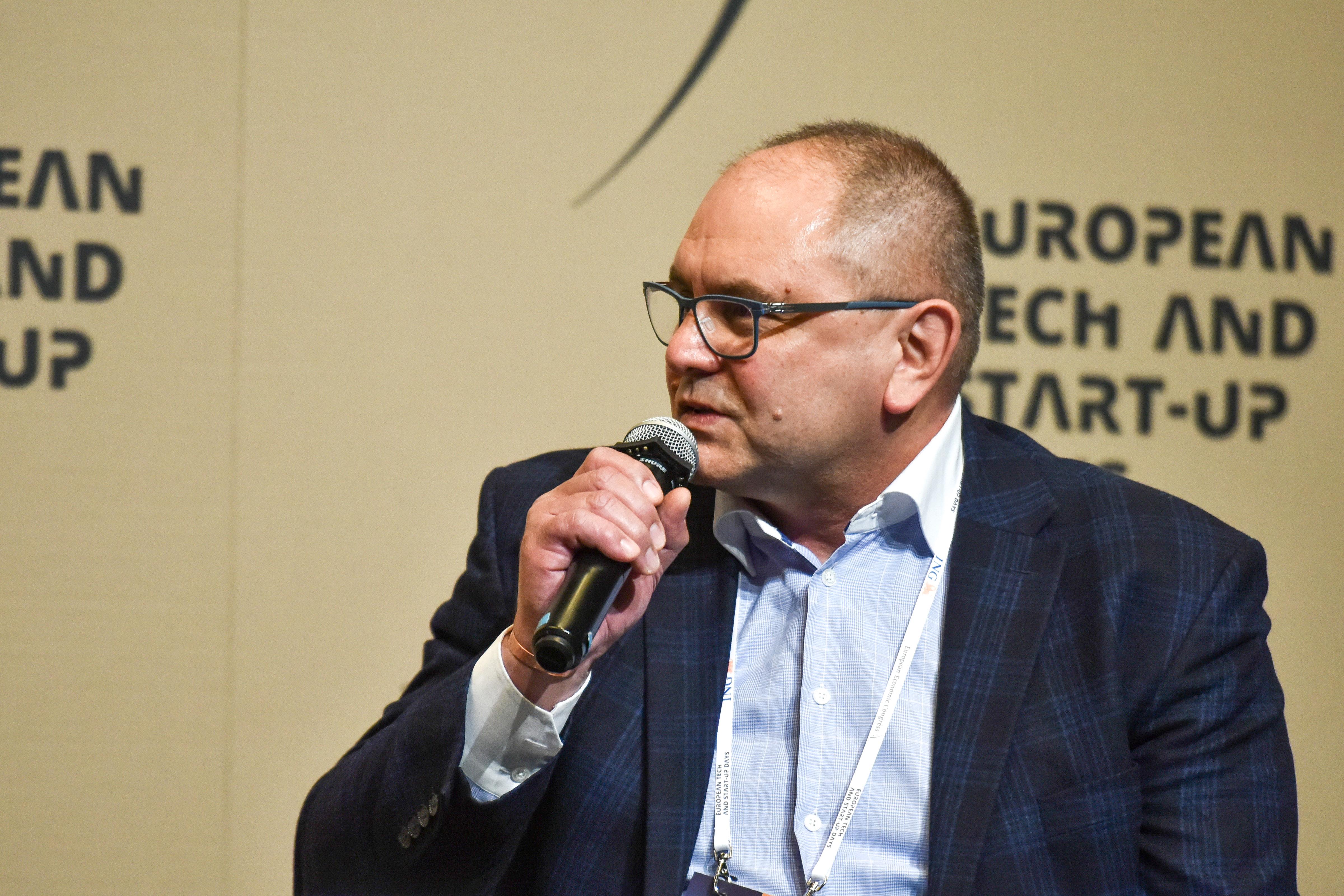 Jerzy Żurek, dyrektor Instytutu Łączności w Państwowym Instytucie Badawczym (Fot. PTWP)