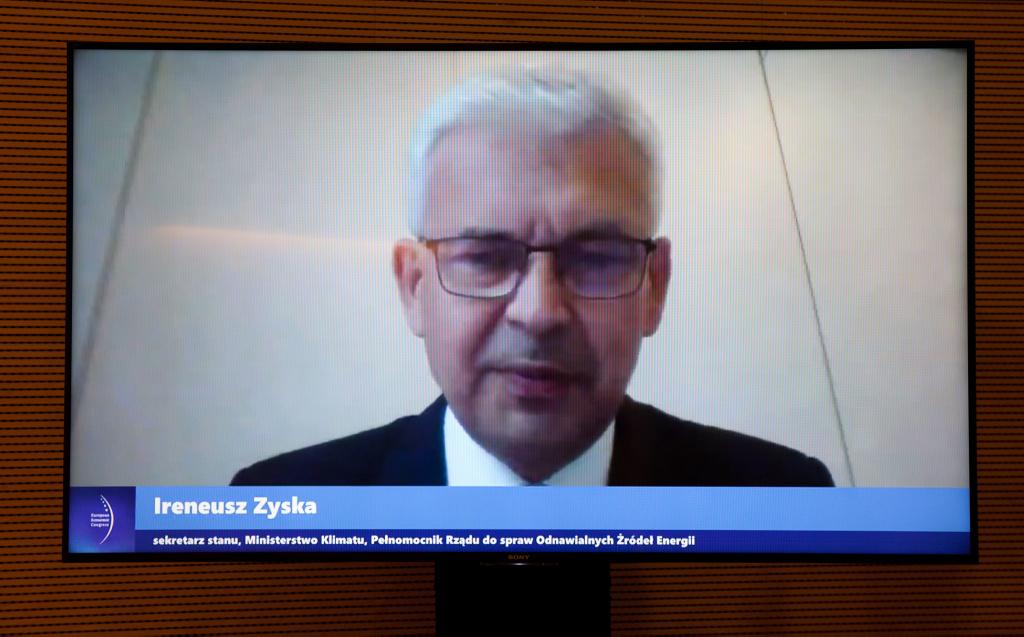 Ireneusz Zyska, sekretarz stanu, pełnomocnik rządu ds. odnawialnych źródeł energii w Ministerstwie Klimatu