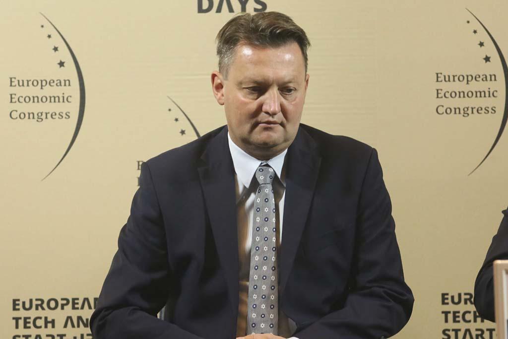 Arnold Bresch, członek zarządu, dyrektor ds. realizacji inwestycji, PKP Polskie Linie Kolejowe Fot. PTWP