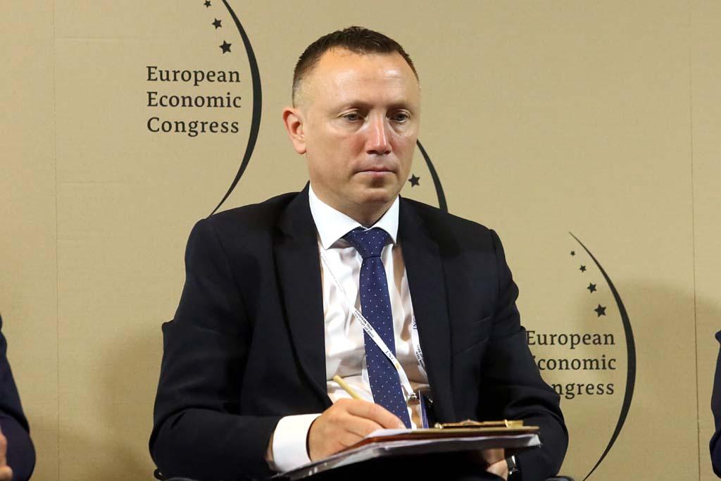 Artur Popko. wiceprezes zarządu i dyrektor operacyjny Budimeksu Fot. PTWP