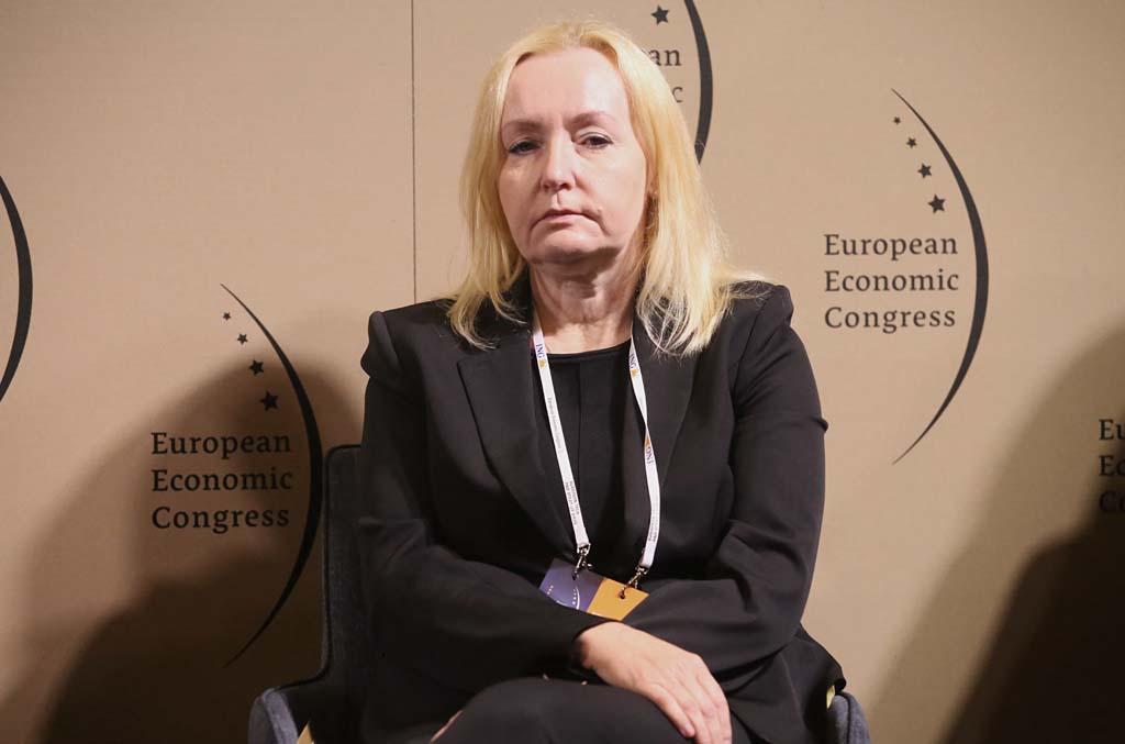 Marita Szustak, prezes Izby Gospodarczej Transportu Lądowego Fot. PTWP