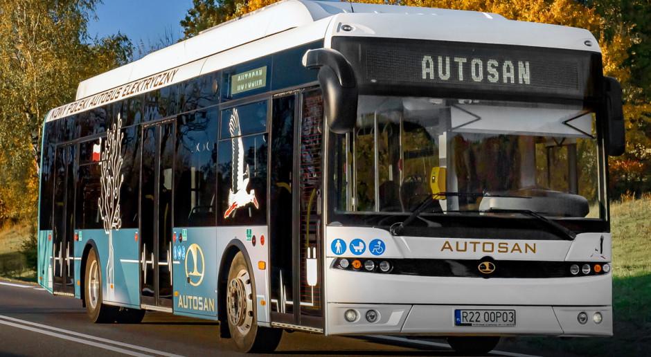 Autosan ma umowę na 15 autobusów elektrycznych