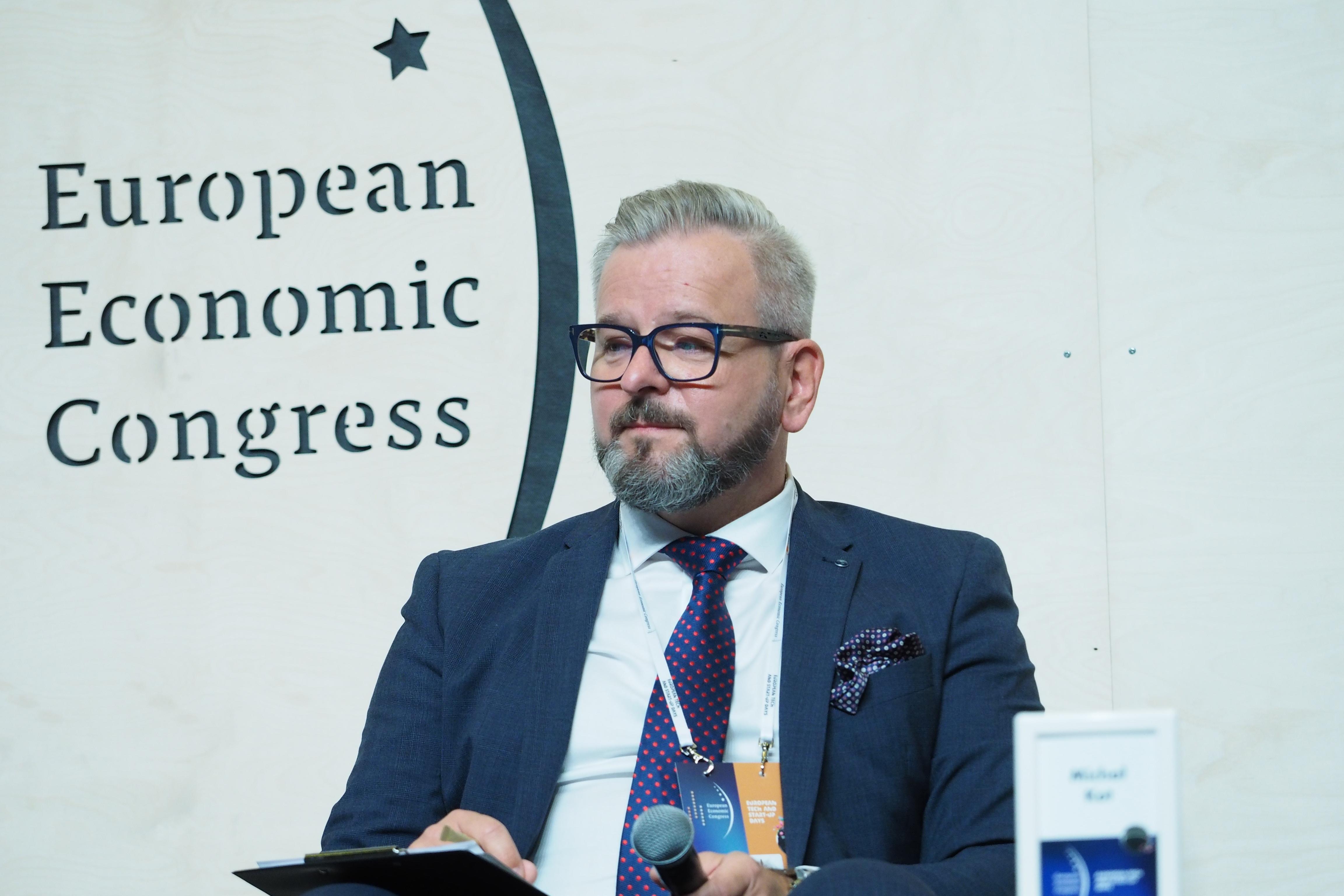 Michał Kot, dyrektor sprzedaży Digital Industries w Siemensie. Fot. PTWP