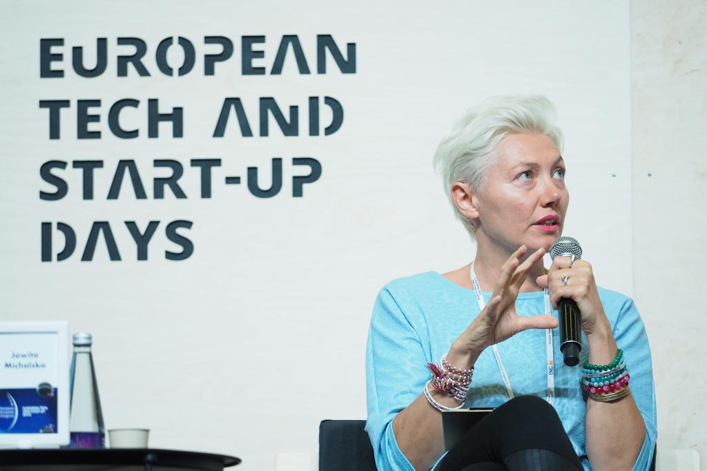 Jowita Michalska, prezes Fundacji Digital University, Singularity University Warsaw. Fot. PTWP