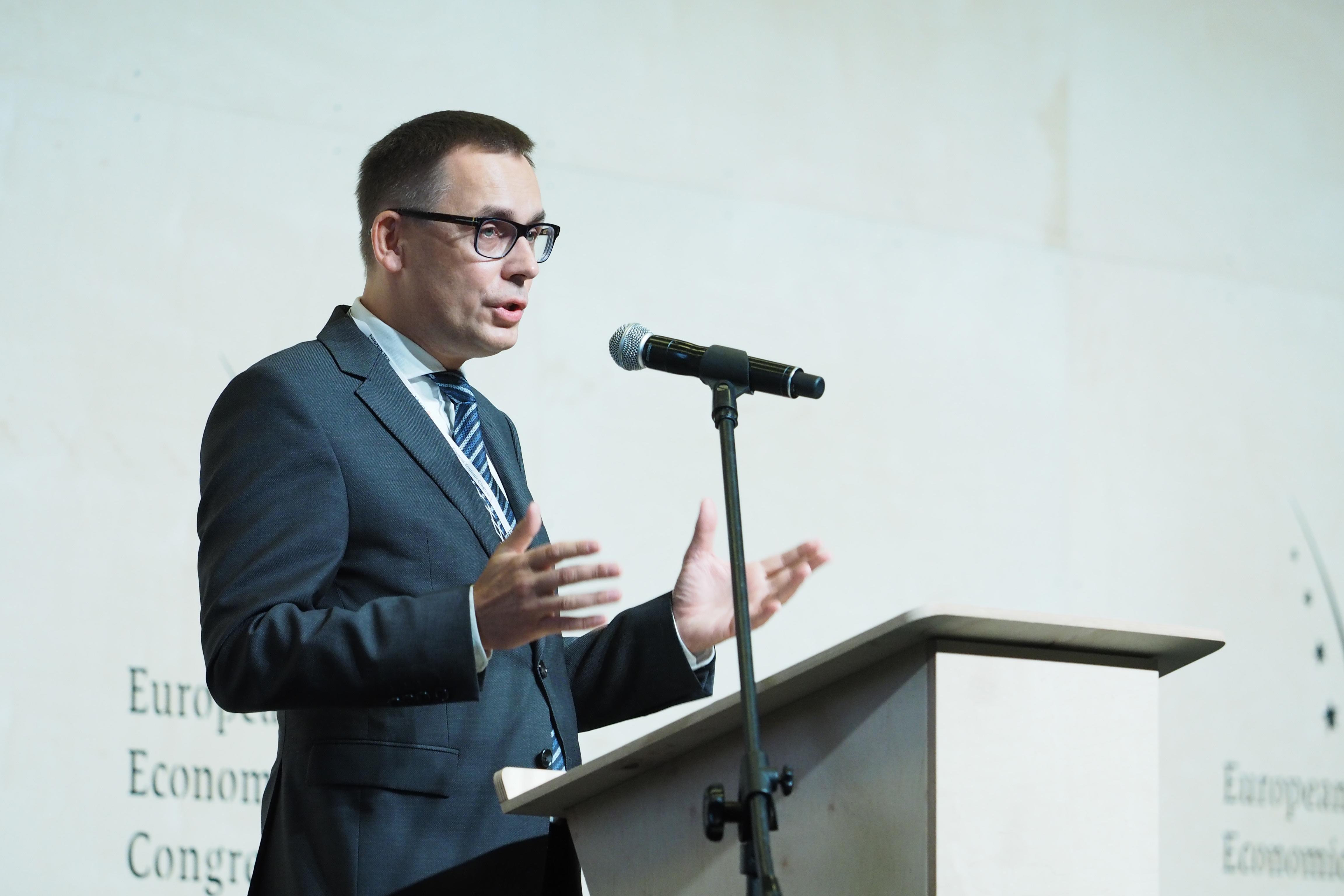 Wojciech Kuśpik, prezes PTWP, inicjator Europejskiego Kongresu Gospodarczego. Fot. PTWP