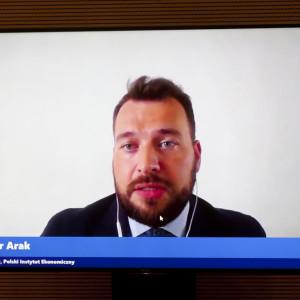 Piotr Arak, dyrektor Polskiego Instytutu Ekonomicznego. Fot. PTWP