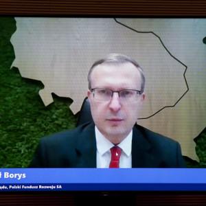Paweł Borys, prezes zarządu Polskiego Funduszu Rozwoju Fot. PTWP