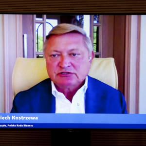 Wojciech Kostrzewa, prezes zarządu Polskiej Rady Biznesu Fot. PTWP