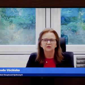 Gertruda Uścińska, prezes Zakładu Ubezpieczeń Społecznych Fot. PTWP