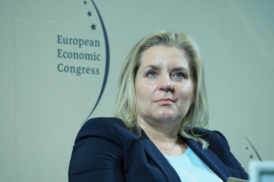 Grażyna Ciurzyńska, p.o. prezesa Polskiej Agencji Inwestycji i Handlu. Fot. PTWP