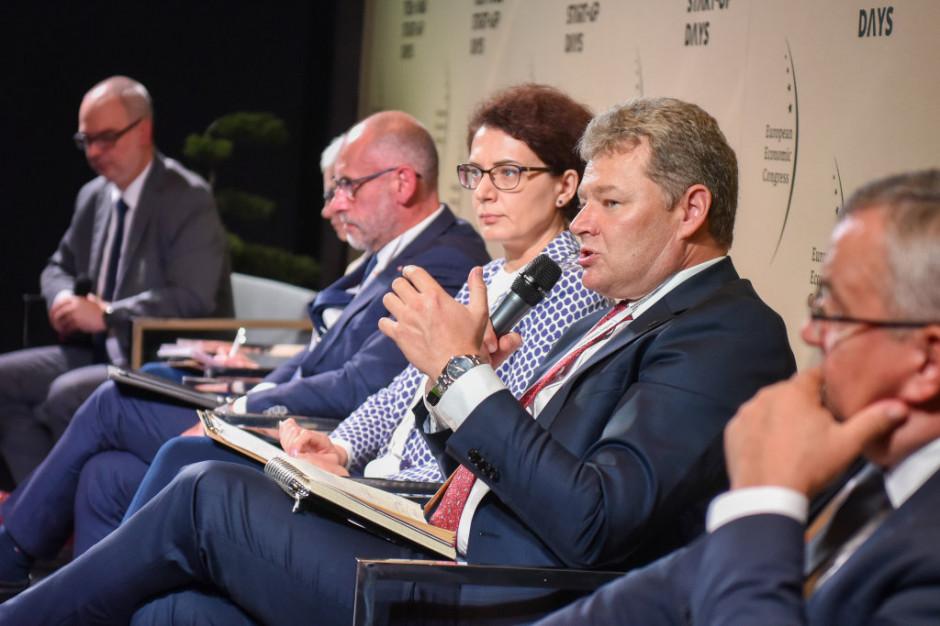 Sławomir Michalewski, wiceprezes ds. finansowych Zarządu Morskiego Portu Gdańsk. Fot. PTWP