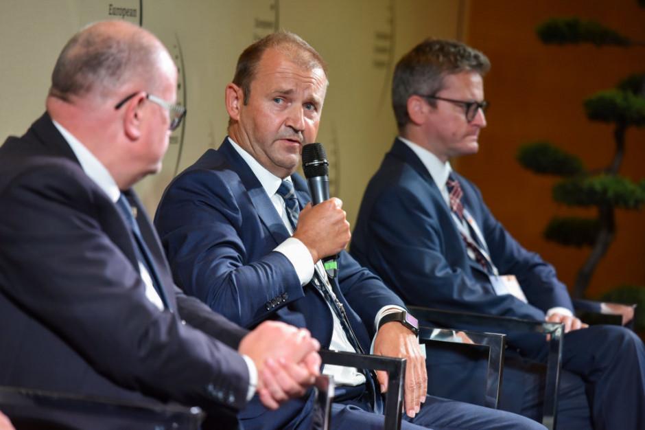 Paweł Pucek, członek zarządu DB Cargo Polska. Fot. PTWP