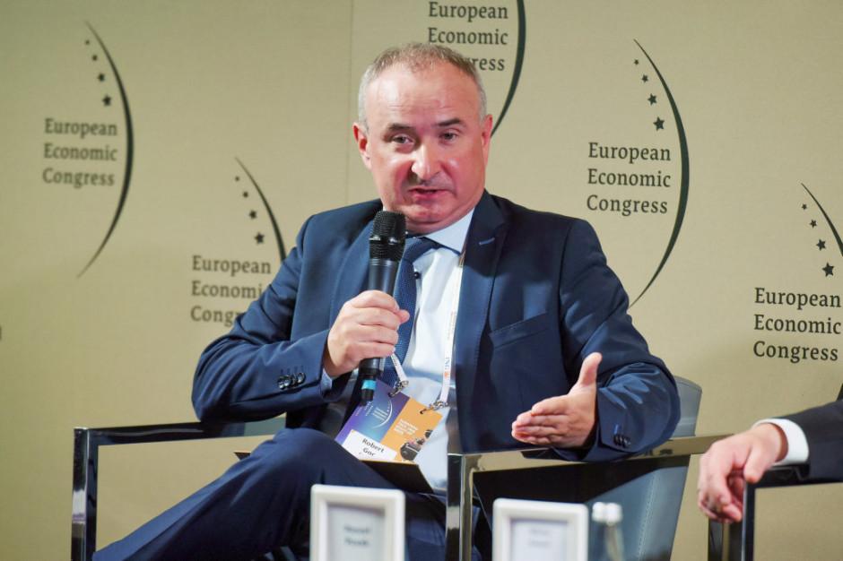 Robert Goc, dyrektor ds. rozwoju Śląskiego Centrum Logistyki. Fot. PTWP