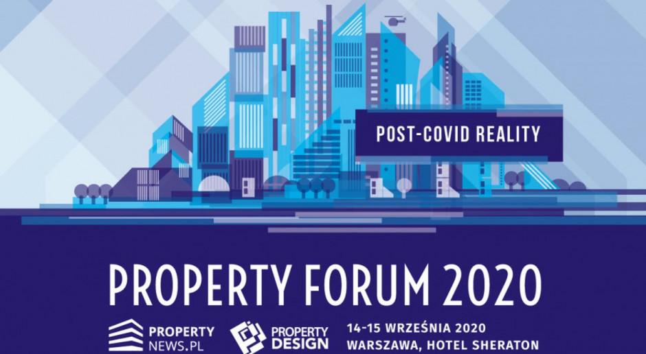 Property Forum 2020 w jubileuszowej odsłonie. Zapraszamy na transmisje