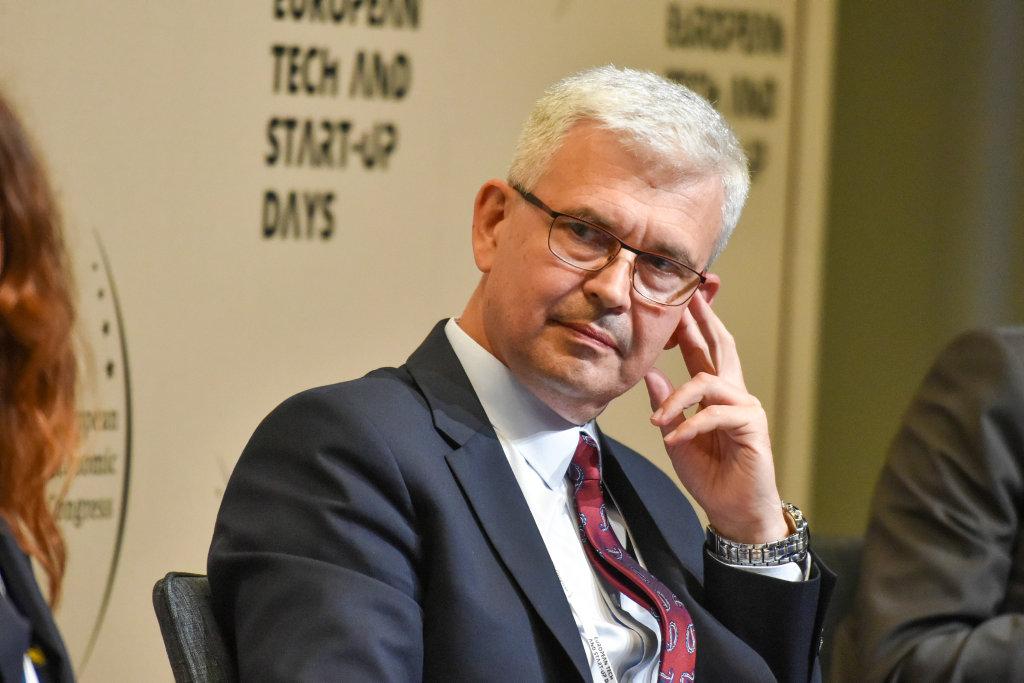 Ireneusz Zyska, wiceminister klimatu, pełnomocnik rządu ds. odnawialnych źródeł energii (Fot. PTWP).