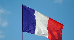 Bank centralny Francji skorygował prognozę spadku PKB