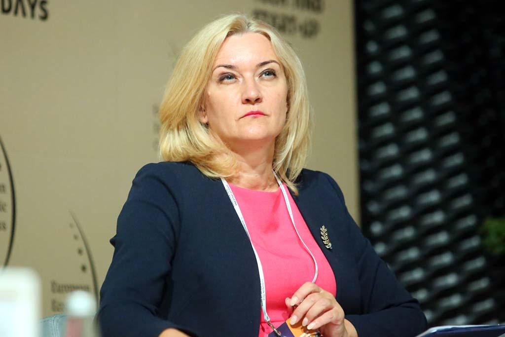 Beata Białowąs, członek zarządu województwa śląskiego (Fot. PTWP).
