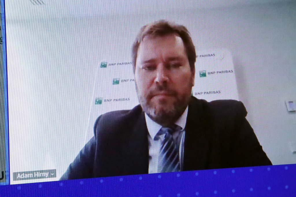 Adam Hirny, dyrektor biura ds. międzynarodowych instytucji finansowych, Bank BNP Paribas 9Fot. PTWP).